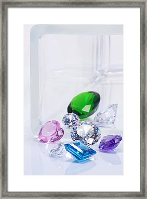 Beautiful Jewel Framed Print by Atiketta Sangasaeng