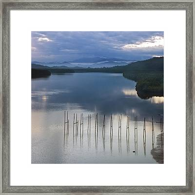 Beautiful Landscape Framed Print by Ng Hock How