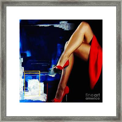 Beautiful Legs 02  Framed Print