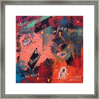 Beautiful Lies Framed Print by Jilian Cramb - AMothersFineArt