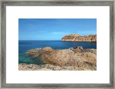 Beautiful L'ile Rousse - Corsica Framed Print