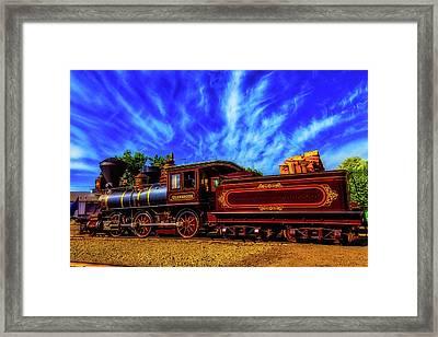Beautiful Locomotive Glenbrook Framed Print