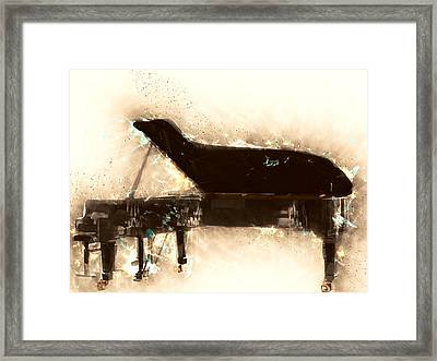Beautiful Love By Bill Evans Framed Print by Vel Verrept