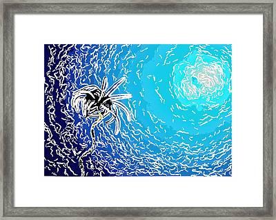 Beautiful Marine Plants 2 Framed Print by Lanjee Chee