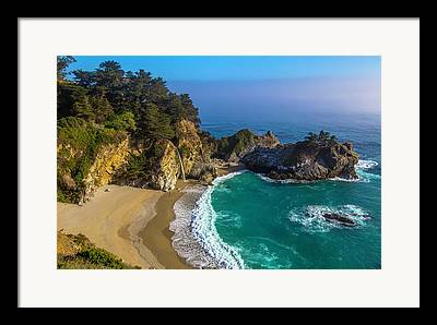 Coast Highway One Framed Prints
