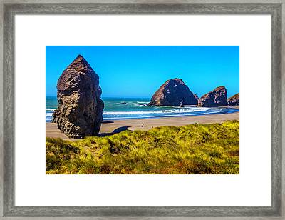 Beautiful Meyers Beach Framed Print