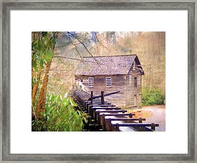 Beautiful Mill Sketch 6 Framed Print