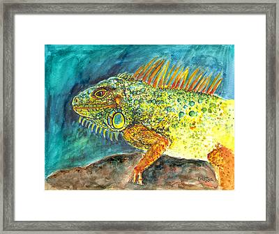 Beautiful Monster Framed Print
