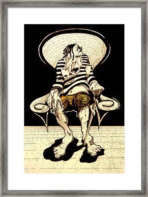 Beautiful Monster Framed Print by Jose Roldan Rendon