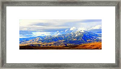 Beautiful Montana Framed Print