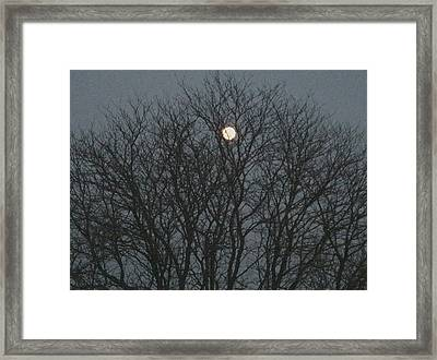 Beautiful Moon Framed Print