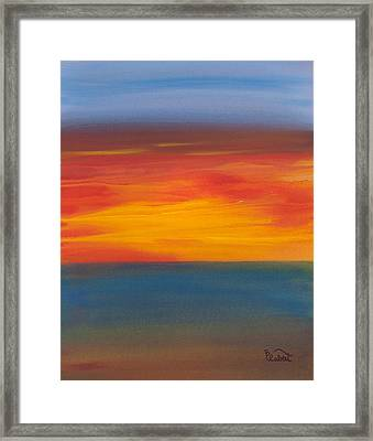 Beautiful Morning Framed Print by Bonnie Rabert