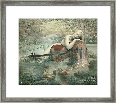 Beautiful Music Framed Print