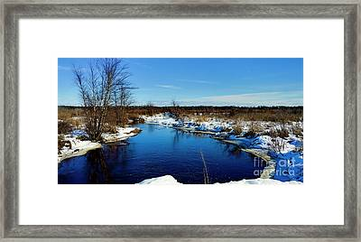 Beautiful Necedah Wildlife Refuge  Framed Print by Ricky L Jones