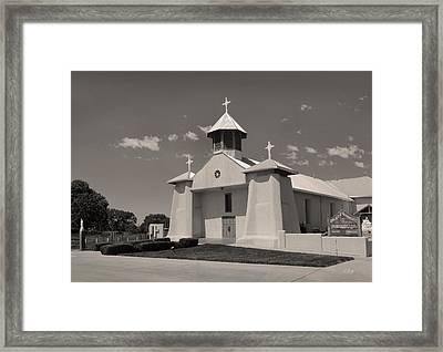 Beautiful New Mexico Church Framed Print