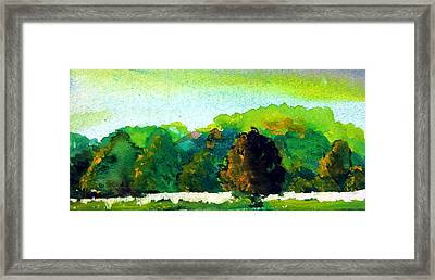 Beautiful Ohio Framed Print by Mindy Newman