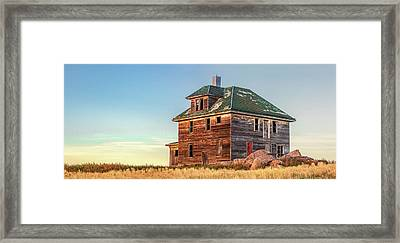 Beautiful Old House Framed Print