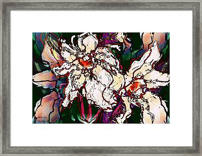 Beautiful Orchids Framed Print