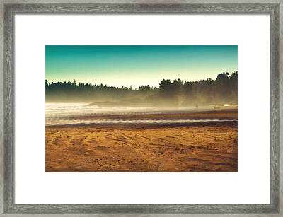 Beautiful Pacific Morning  Framed Print by Naman Imagery