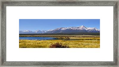 Beautiful Panoramic Landscapes Framed Print by Boon Mee
