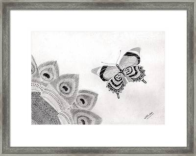 Beautiful Patterns In Nature Framed Print by Selvam Venkatesan