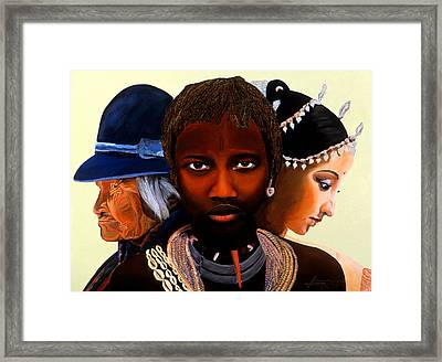 Beautiful People Framed Print