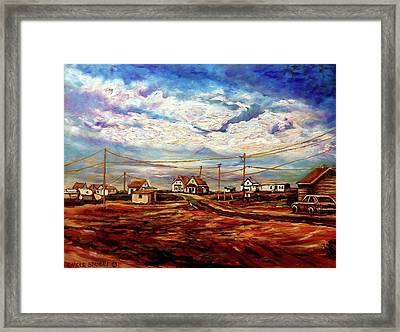 Beautiful Prince Edward Island Maritime Canada Framed Print by Carole Spandau