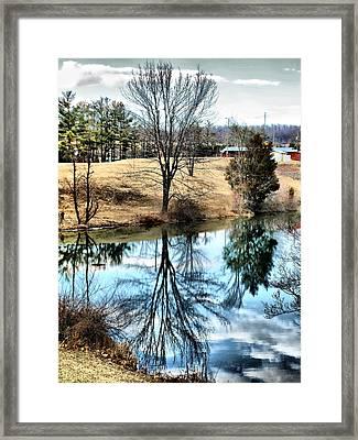 Beautiful Reflection 2 Framed Print by Kathy Jennings