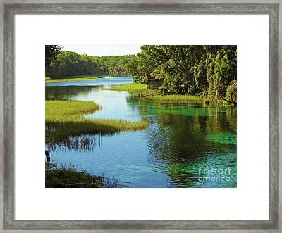 Beautiful River Framed Print