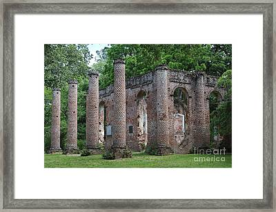 Beautiful Ruins Framed Print