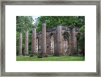 Beautiful Ruins Framed Print