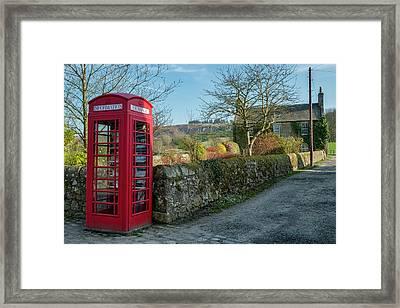 Framed Print featuring the photograph Beautiful Rural Scotland by Jeremy Lavender Photography