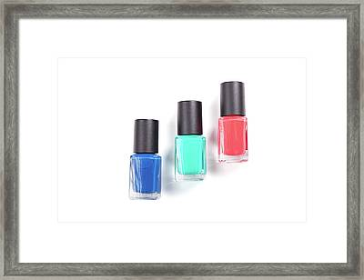 Beautiful Sample Cosmetics. Framed Print by Serhii Holenko