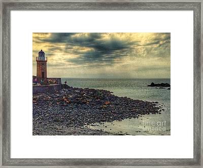 Beautiful Skies At Portpatrick 2 Framed Print