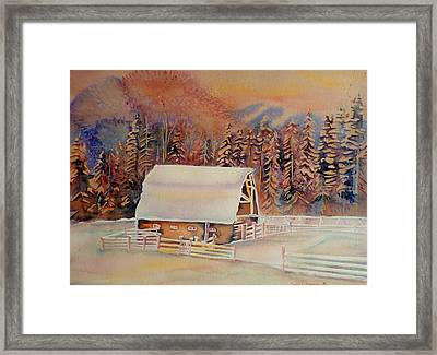 Beautiful Skies  Framed Print by Carole Spandau