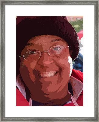 Beautiful Smile Framed Print by David Bearden