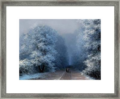 Beautiful Sound Of Silence Framed Print