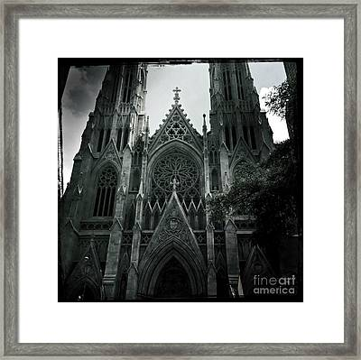 Beautiful St Patricks Cathedral Framed Print by Miriam Danar