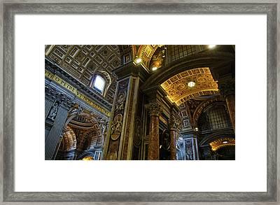 Beautiful St. Peters Framed Print by Brian Kamprath