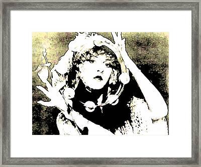 Beautiful Stevie Nicks Framed Print by John Malone