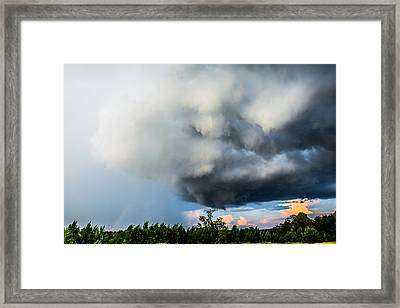 Beautiful Storm Framed Print