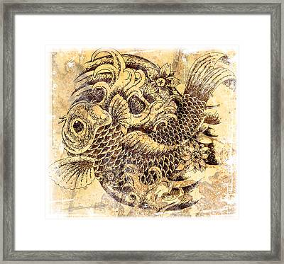 Beautiful Struggle Framed Print by Maria Arango