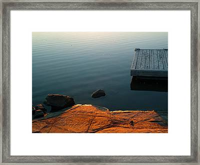 Beautiful Sunday Framed Print