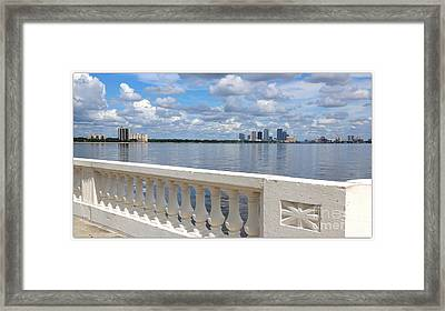 Beautiful Tampa Balustrade Framed Print by Carol Groenen