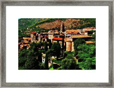 Framed Print featuring the photograph Beautiful Tivoli by Harry Spitz