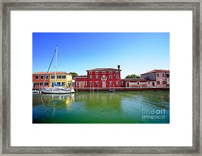 Beautiful Torcello Framed Print by Floyd Menezes