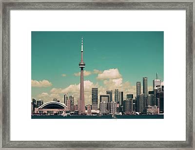 Beautiful Toronto Framed Print