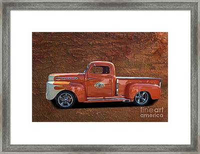 Beautiful Truck Framed Print by Jim  Hatch
