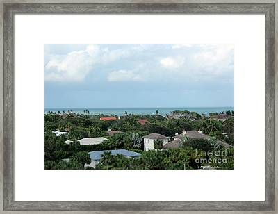 Beautiful Vero Beach Florida Framed Print by Megan Dirsa-DuBois