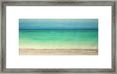 Beautiful Waters Framed Print
